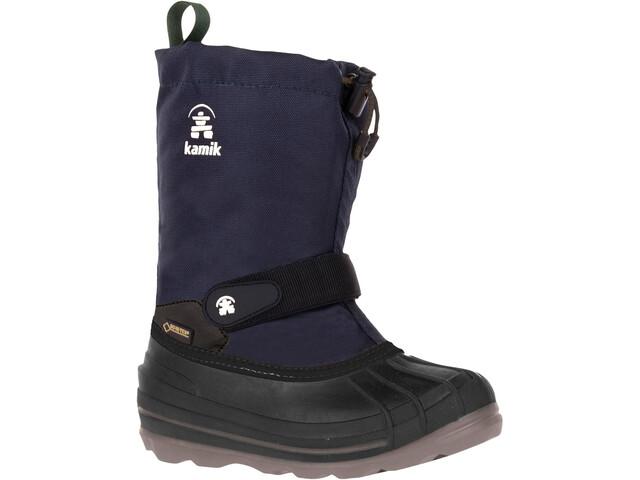 Kamik Waterbug 8G Winter Boots Youth navy